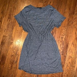 Forever 21 💋 Grey T-shirt Dress